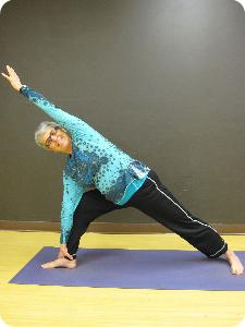 Yoga Instructor, Bev Holstun