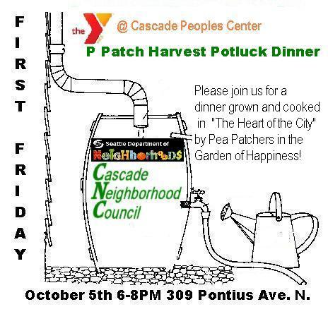 P-Patch Harvest Potluck Dinner