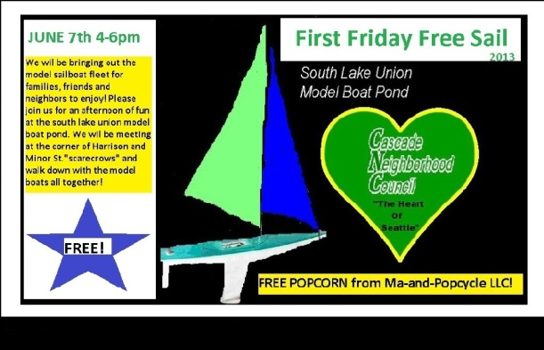 Model Boat Celebration This Friday!