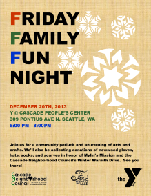 Family Fun Night - December Online