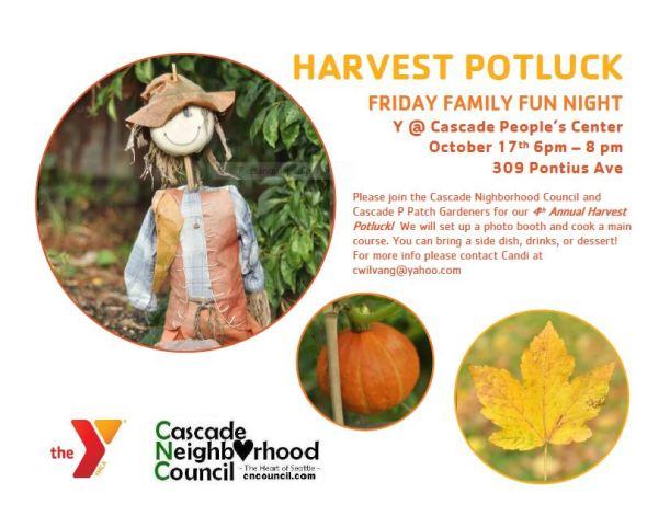 Harvest Flyer